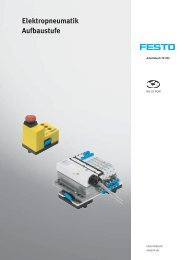 Elektropneumatik Aufbaustufe - Festo Didactic