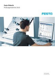 Festo Didactic Prüfungsmaterial 2010