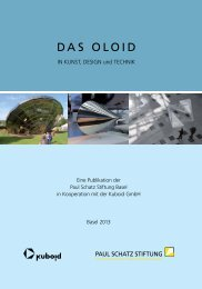 DAS OLOID - Paul Schatz Stiftung