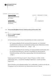 Programmablaufpläne für den Lohnsteuerabzug im Dezember 2011