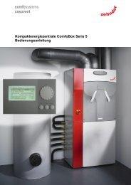 Kompaktenergiezentrale ComfoBox Serie 5 ... - Comfosystems