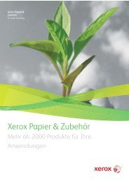 Xerox Papier & Zubehör - Printing and More