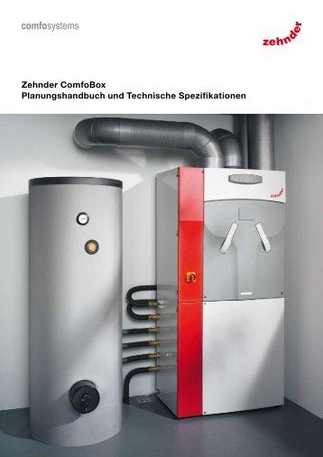 Zehnder ComfoBox Planungshandbuch und ... - Comfosystems