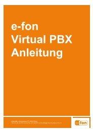 e-fon AG | Albulastrasse 57 | 8048 Zürich Tel +41 (0) 44 575 14 40 ...