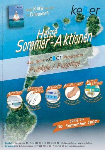 Aktion «… - Simon Keller AG