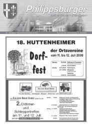 Stadtanzeiger Philippsburg KW28 - Nussbaum Medien