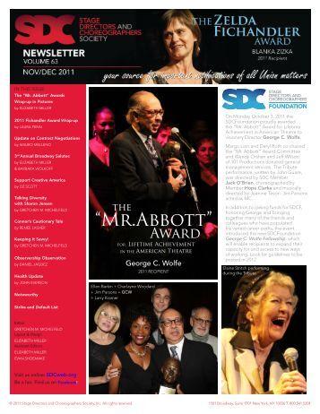 """Mr.Abbott"" - Stage Directors and Choreographers"