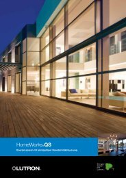 HomeWorks®QS - Lutron