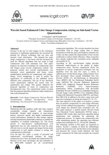 thesis on wavelet based image compression Wavelet-based image compression for image compression in this thesis in transform based image compression, entropy coding typically follows the quantization.