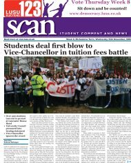 Students deal first blow to Vice-Chancellor in tuition ... - Scan - Lusu