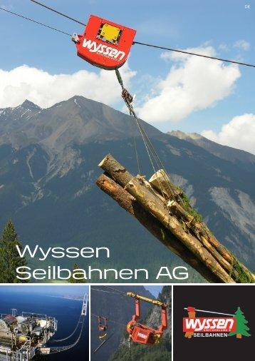 Gesamtprospekt 2012.pdf - Wyssen Seilbahnen AG