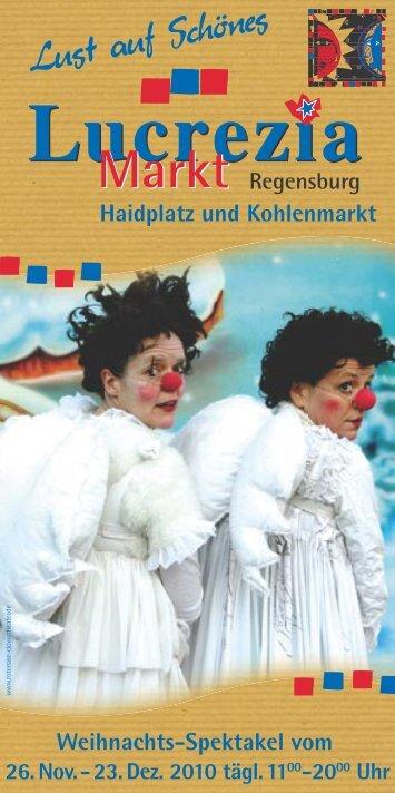 26.Nov. - Regensburg Lucrezia Weihnachtsmarkt