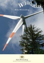 Windatlas [PDF, 3.17 MB] - Umweltministerium - Baden-Württemberg
