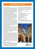 Christkindlmarkets in Germany - Eberhardt Reisen - Page 2