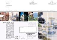 Produktbroschüre als PDF - Zeller Keramik