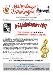 Mitteilungsblatt Nr. 15 vom  14. April 2011 (PDF - Gemeinde ...