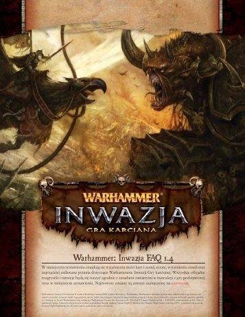 Warhammer: Inwazja FAQ 1.4 - Galakta