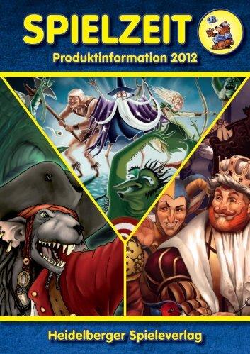 produktinformation 2012 Heidelberger Spieleverlag - Press ...