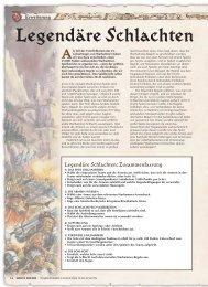 Warhammer: Legendäre Schlachten - Games Workshop