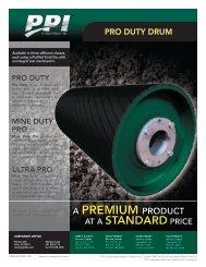 Precision Pulley Pro Duty Drum PDF - BDI