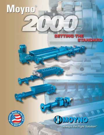 Moyno 2000 series - MIP Process Technologies