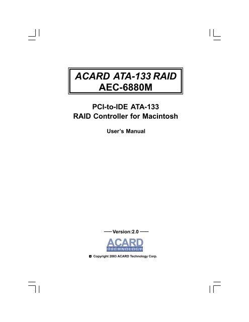 Acard AEC-6896/S AEC-6896/S Driver Download