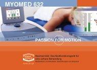 Myomed 632: Das Multifunktionsgerät für eine sichere Behandlung
