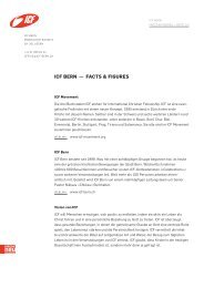 27. Oktober 2011 - Facts & Figures ICF Bern
