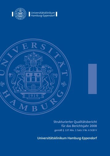 2008 - Universitätsklinikum Hamburg-Eppendorf