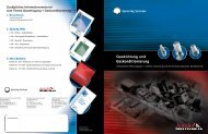 Gaskühlung und Gaskonditionierung, Bulletin 540-D - Spraying ...