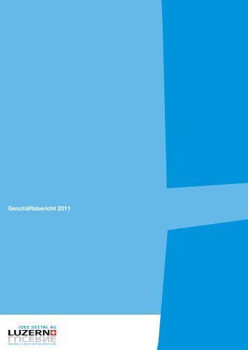 Geschäftsbericht 2011 - IDEE SEETAL AG