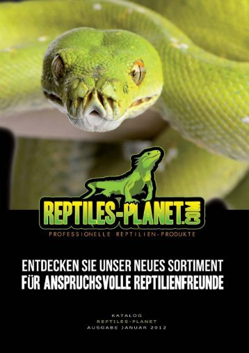 Reptiles-Planet-Katalog - Reptile-food.ch
