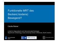 Funktionelle MRT des