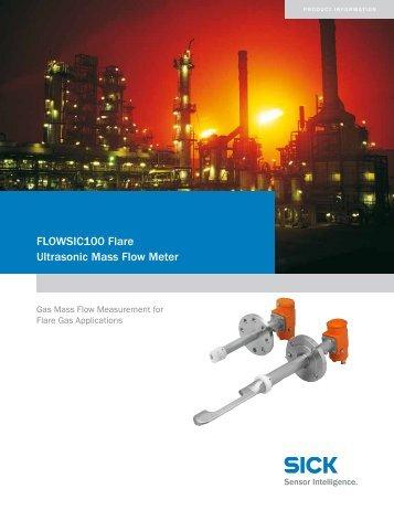 FLOWSIC100 Flare Ultrasonic Mass Flow Meter - Baytec-inc.com