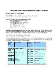 PERFIL DE MERCADO HIERBAS CULINARIAS Y ... - Microweb