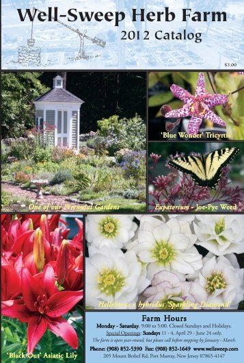 2012 Catalog - Well-Sweep Herb Farm