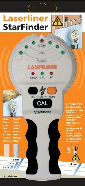 Laserliner StarFinder - UMAREX GmbH & Co.KG
