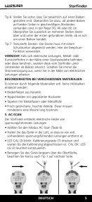 Laserliner StarFinder - UMAREX GmbH & Co.KG - Page 5