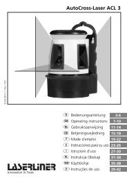 AutoCross-Laser ACL 3 - UMAREX GmbH & Co.KG