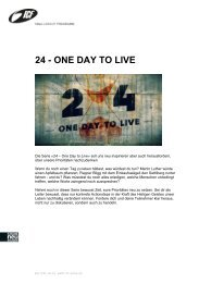 24 - ONE DAY TO LIVE - ICF Bern