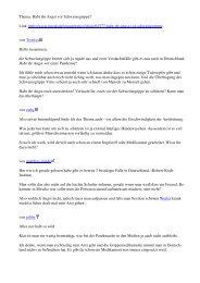 Thema: Habt ihr Angst vor Schweinegrippe? Link: http://www.imedo ...