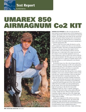 Download Umarex 850 Airmagnum Co2 Kit - Frontier Arms
