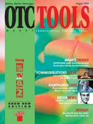 OTC August 04.pdf - WAZ Zeitschriften Marketing