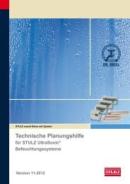 Technische Planungshilfe - Stulz GmbH