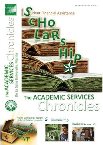 Volume 1 Issue 2 - De La Salle University