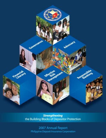 2 PDIC 2007 annual report - Philippine Deposit Insurance Corporation