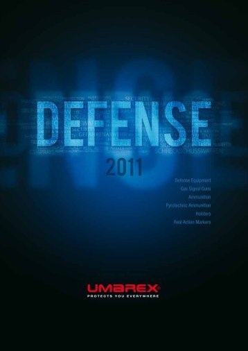 Defense Equipment Gas Signal Guns Ammunition ... - Umarex