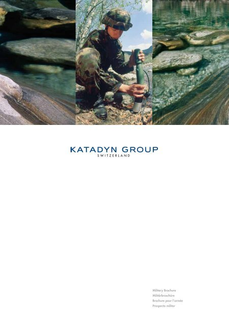 Katadyn Camping Drip Filter Ceradyn aus der Endurance Serie