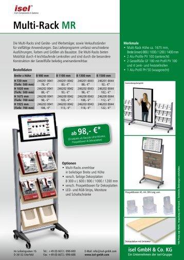 Datenblatt herunterladen - isel GmbH & Co. KG.