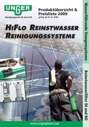 Unger HiFlo - Heupel GmbH
